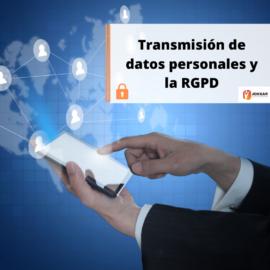 Transferencia de datos personales y la RPGD