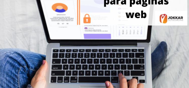 Protección de datos para páginas web